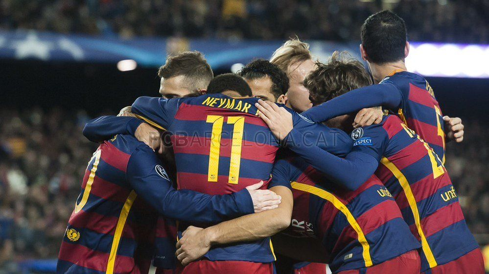 "FC Barcelona on Twitter: ""[CRÓNICA] FC Barcelona - AS Roma: Primeros de grupo por la puerta grande (6-1) https://t.co/gAT4IuV7oi #FCBvRoma https://t.co/4WTAhP1Rj6"""