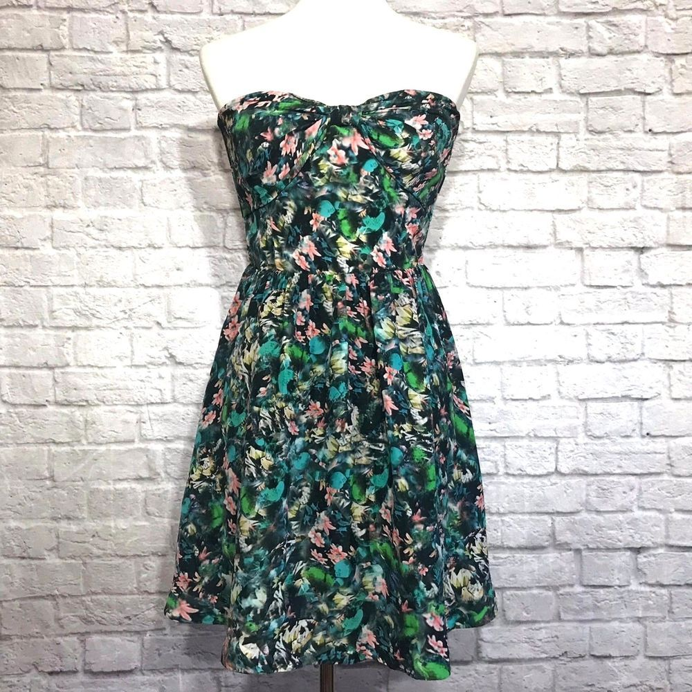 Details about H&M Womens Dress Floral Fit