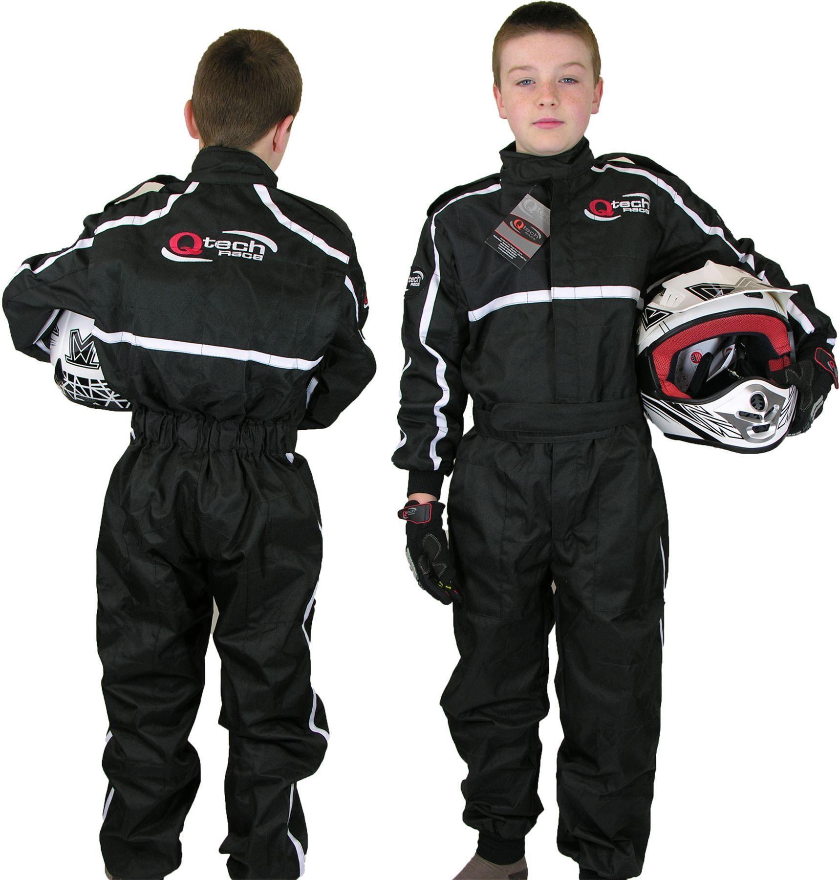 Childrens Kids Race Suit Overalls Karting Motocross Dirt Bike By Qtech Racing Suit Kids Races Motocross Racing