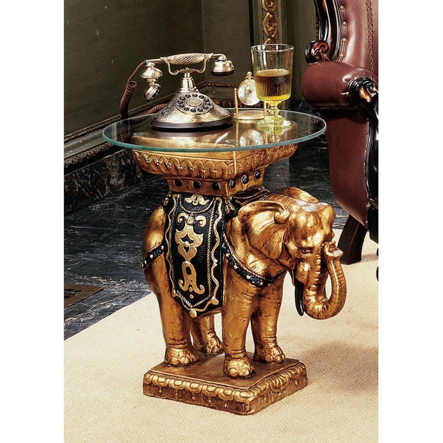 Maharajah Golden Elephant Table   Products   Pinterest   Resin table ...