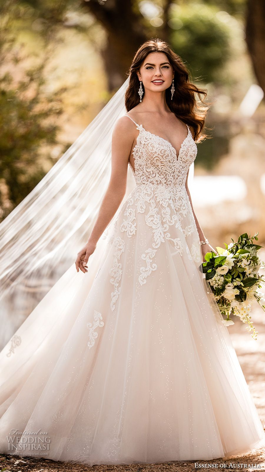 Essense of Australia Fall 2017 Wedding Dresses | W