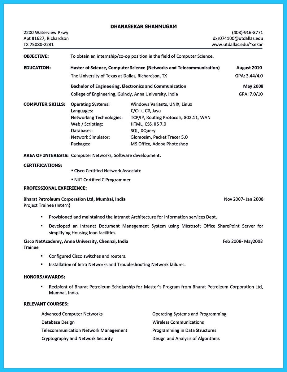 Cool Best Current College Student Resume With No Experience Check More At Http Snefci Org Best Cu Online Resume Internship Resume Free Online Resume Builder