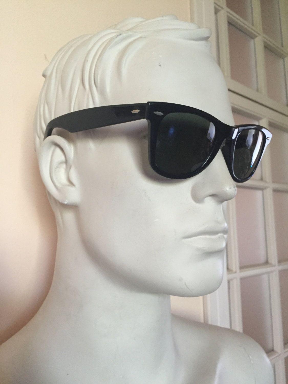 Wayfarer neri, vintage occhiali da sole Ray-ban wayfarer originali anni '60…