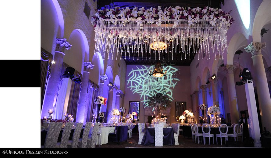 Winter Wonderland Wedding At The Biltmore Hotel In Miami, FL. Flowers And  Decor By Avant Gardens Miami | Centerpieces By Avant Gardens | Pinterest |  Wedding ...