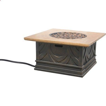 Bond Avila 20 Lb Gas Fire Table, Steel