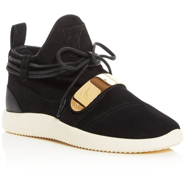 info for lowest price superior quality Giuseppe Zanotti Wraparound Lace Slip-On Sneakers ($740 ...