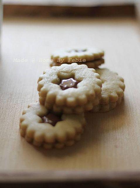 chocolate sandwich cookies by fbenneig, via Flickr
