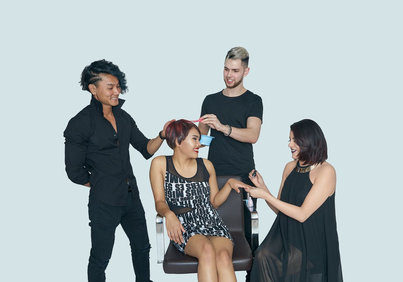 TÓC HAIR Hair studio, Hair and beauty salon, Hair