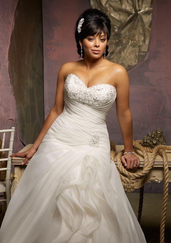 tendance robe de mari e 2017 2018 dress for the curvy bride tendance robe femme wedding. Black Bedroom Furniture Sets. Home Design Ideas