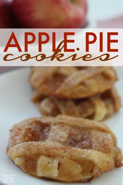 Easy Apple Pie Cookies Recipe Tasty Pinterest Apple pie