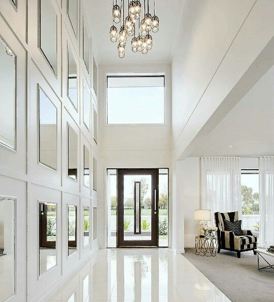 Foyer Ideas Australia : Amazing white foyer luxury