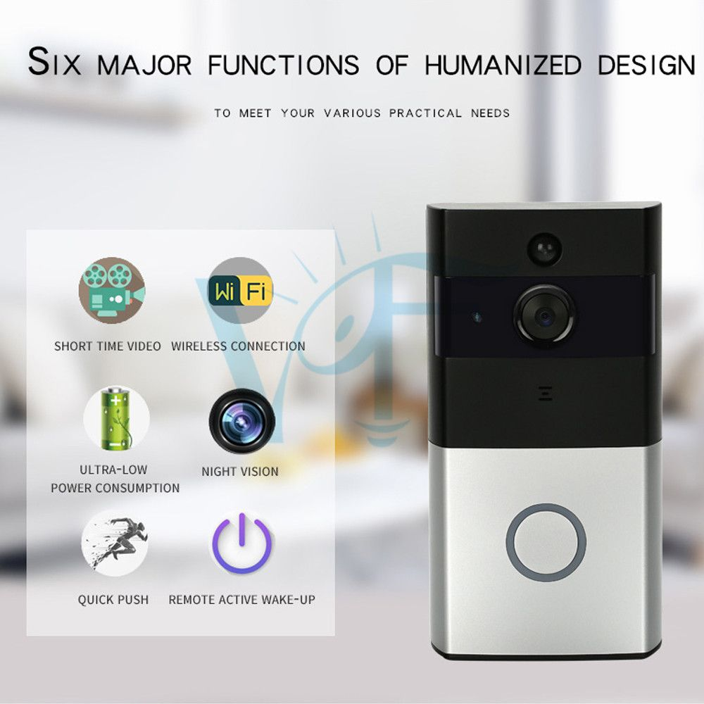 Home Security Mobile APP Remote Control Visual Video
