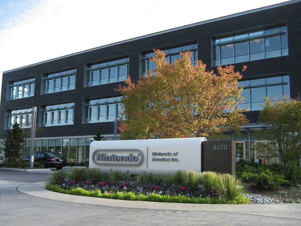 Nintendo of America Headquarters in Redmond, WA