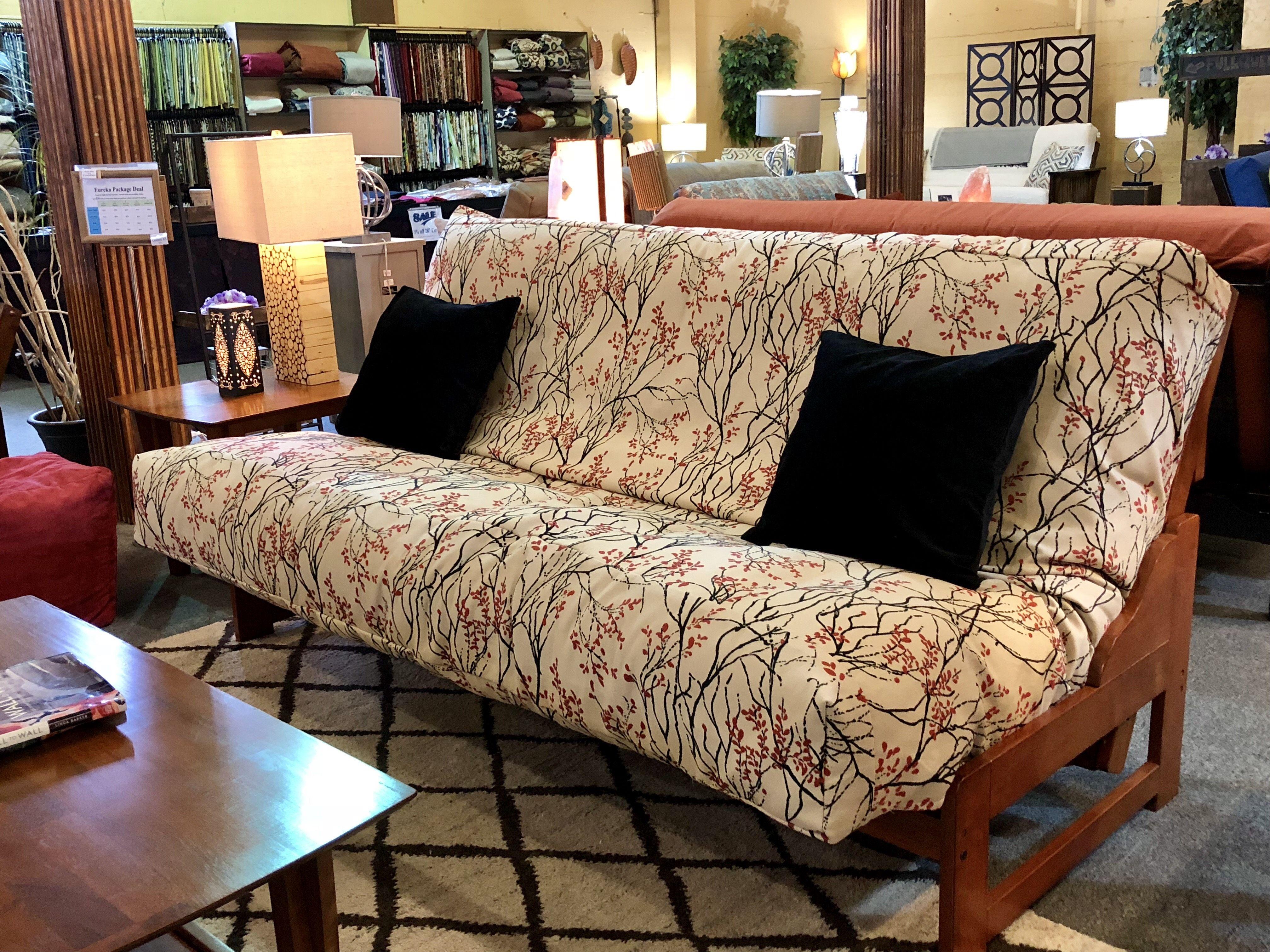 Eureka Futon Couch Frame   Comfortable futon, Futon couch ...