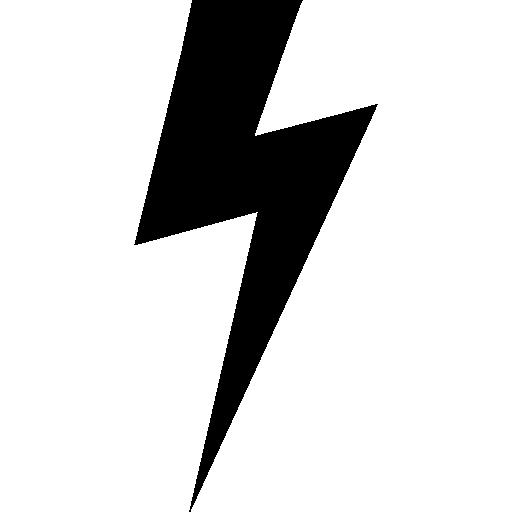 Lightning Bolt Black Shape Free Vector Icons Designed By Freepik Lightning Bolt Tattoo Lightning Flash Harry Potter Lightning Bolt