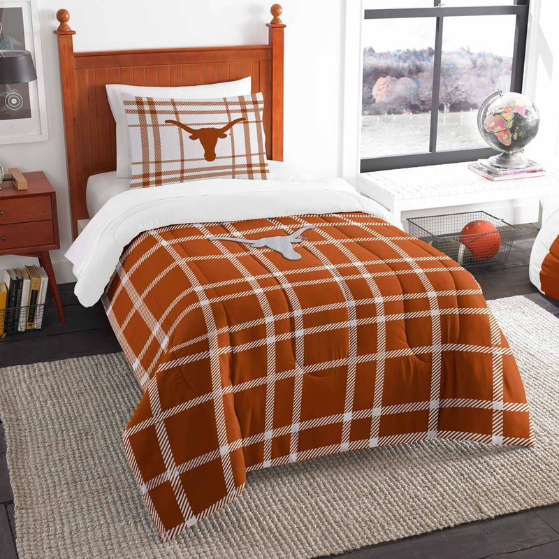 Texas Longhorns The Northwest Company Soft Cozy 2 Piece Twin Bed Set