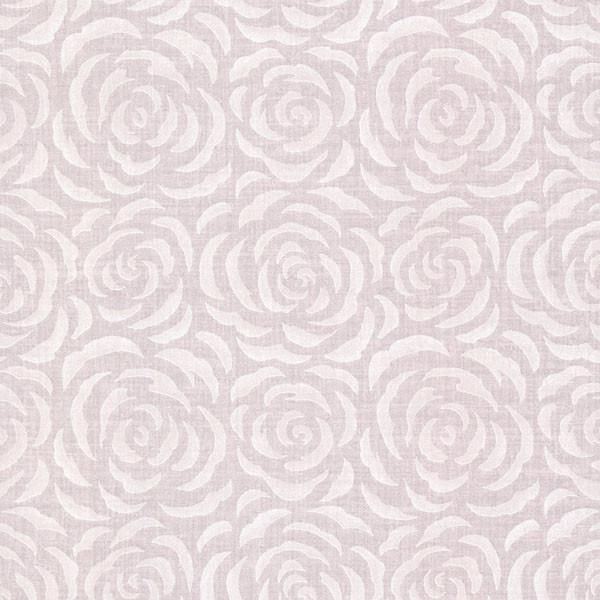 Rosette Lavender Rose Pattern Wallpaper Pattern