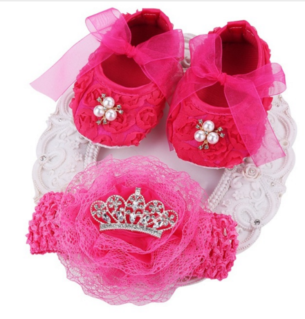 f6386cc5d1d84 Department Name: BabyItem Type: First WalkersFashion Element: T-tiedClosure  Type: Lace-UpPattern Type: FloralGender: Baby GirlBrand Name:  cutebebeOutsole ...