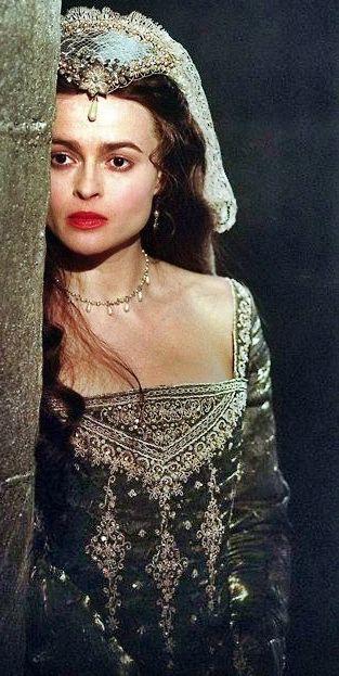 Anne Boleyn's Grey Gown (Henry VIII, 2003), Helena Bonham Carter.