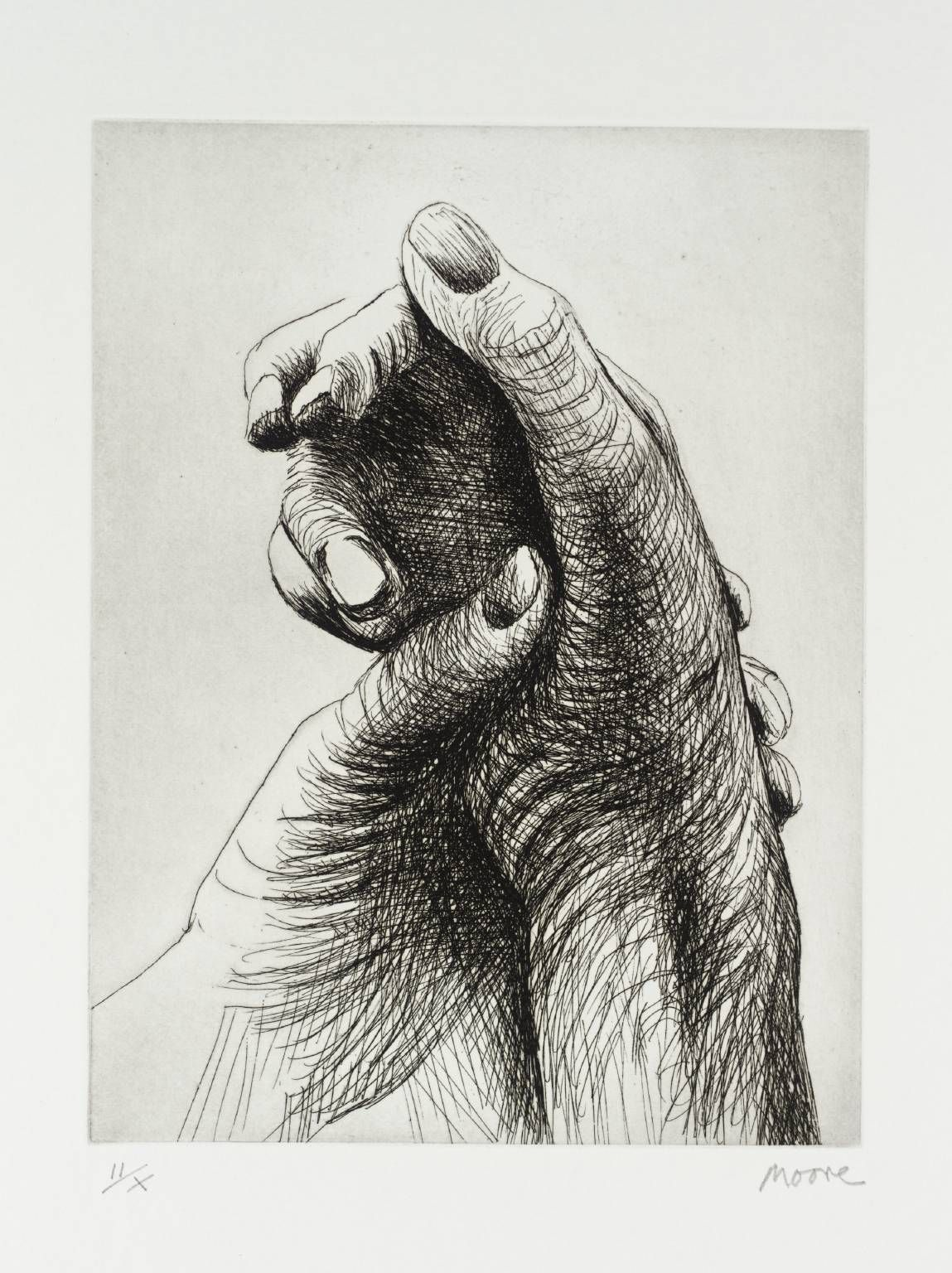 The Artist S Hand Iv Henry Moore Om Ch