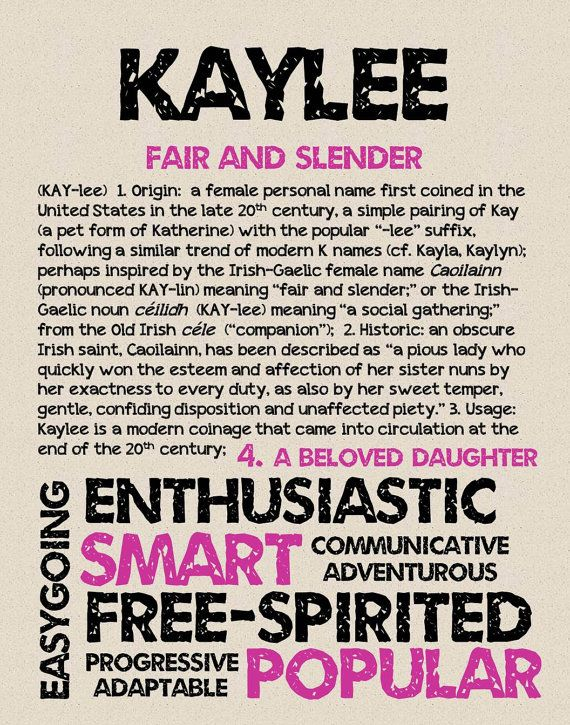 35++ Kaylee name meaning and origin information