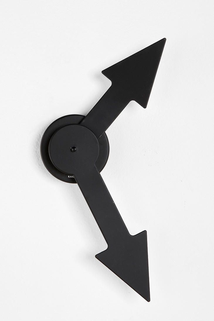 Karlsson Little Big Time Arrow Wall Clock Online Only