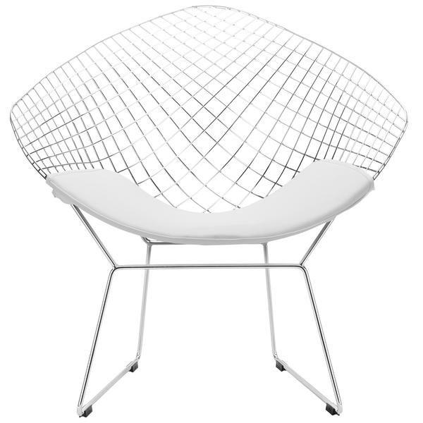 Nice Bertoia Style Diamond Chair