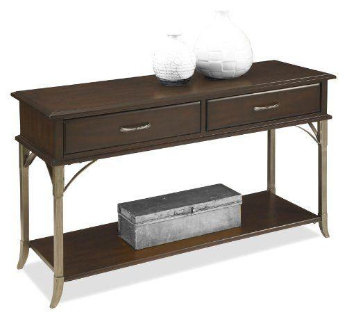 Home Styles 5052 22 Bordeaux Console Sofa Table Espresso Finish
