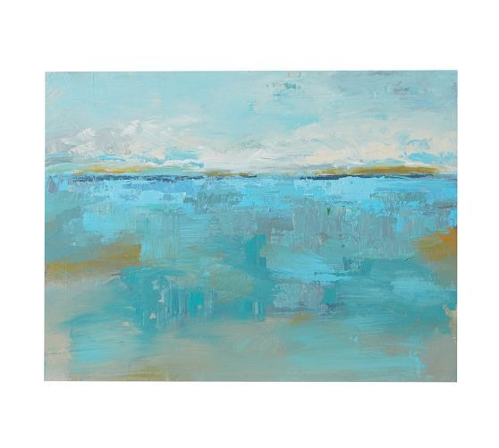 California Horizons in Color, Series 2, 05, Acrylic on Wood Panel by Andrzej Michael | Pottery Barn