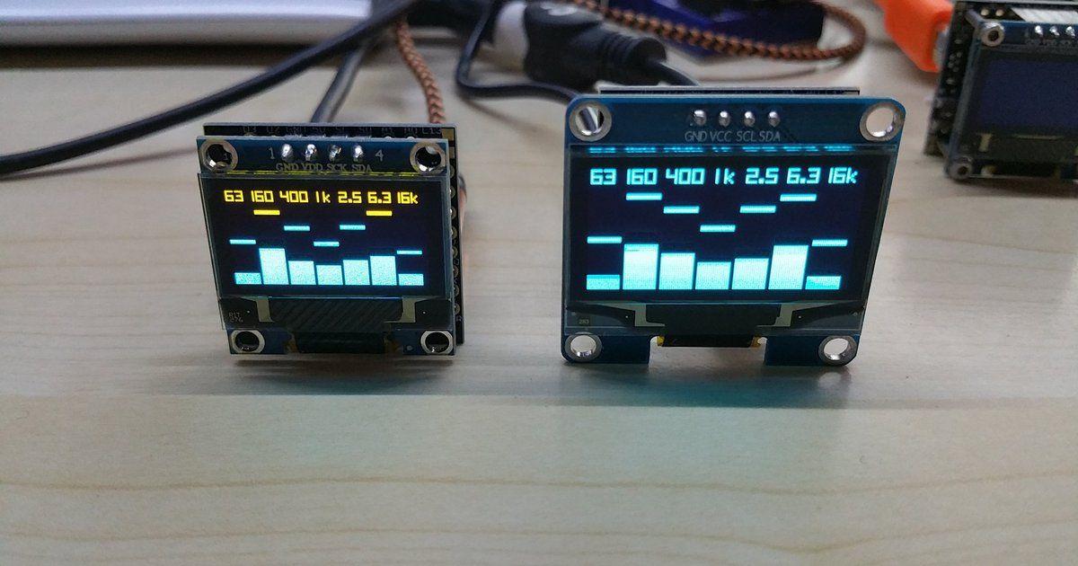Olediuno Spectrum Analyzer With 3 Display Modes By Phoenix Cnc