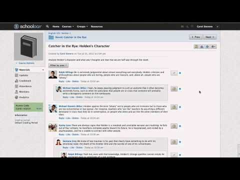 How to use schoology (LMS). Video tutorials Schoology