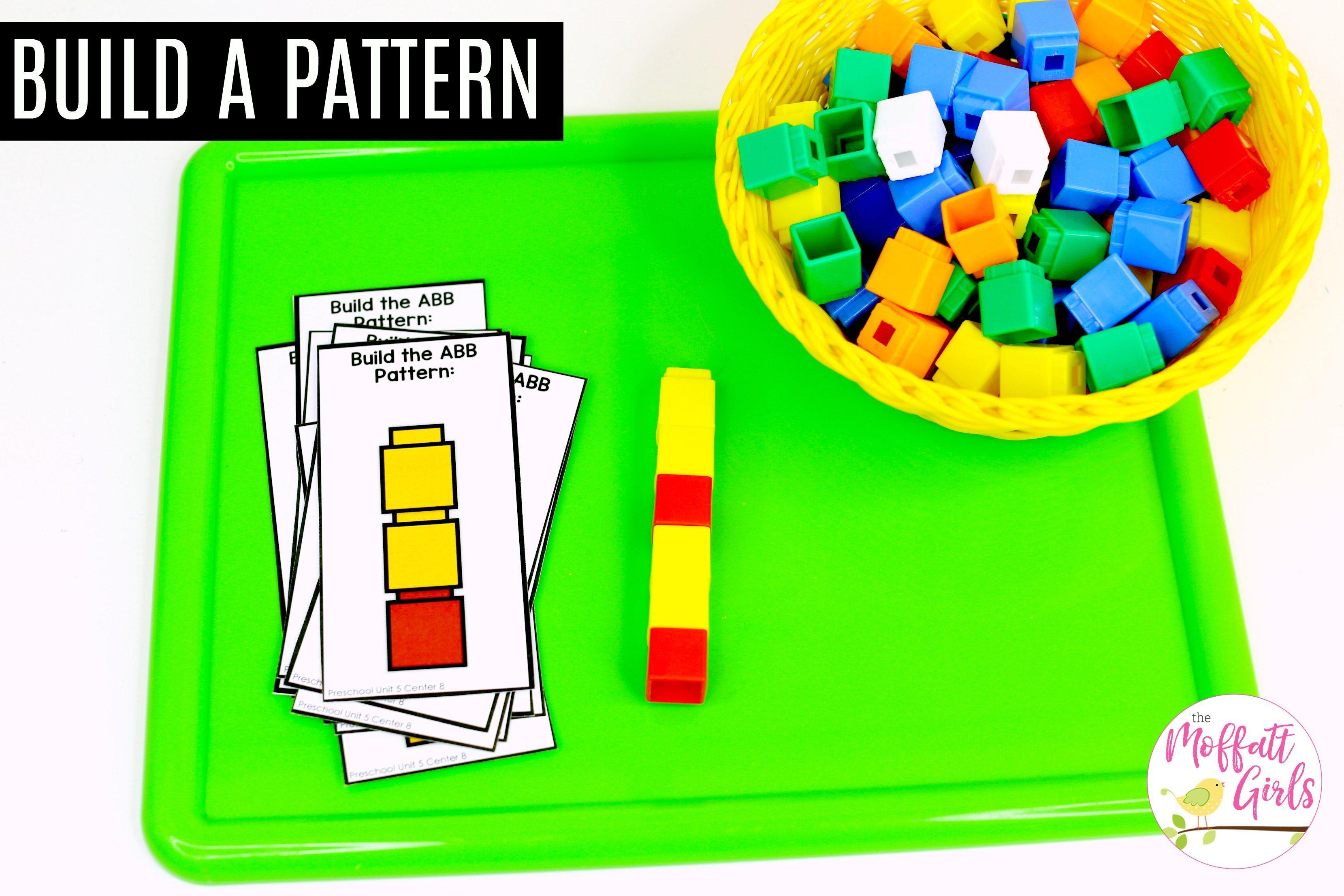 Preschool Math Patterns