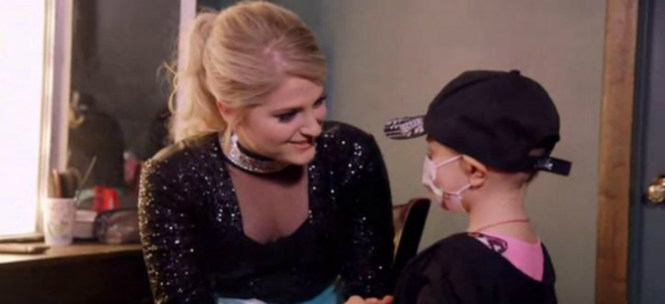 """Meghan Trainor meets fan with leukemia. Teen Vogue/ Fanlala screenshot  I've liked Meghan Trainor ever since she flooded the radio waves with her hit, """"All About That Bass."""" Over the past week, however, I have found myself writing about..."""