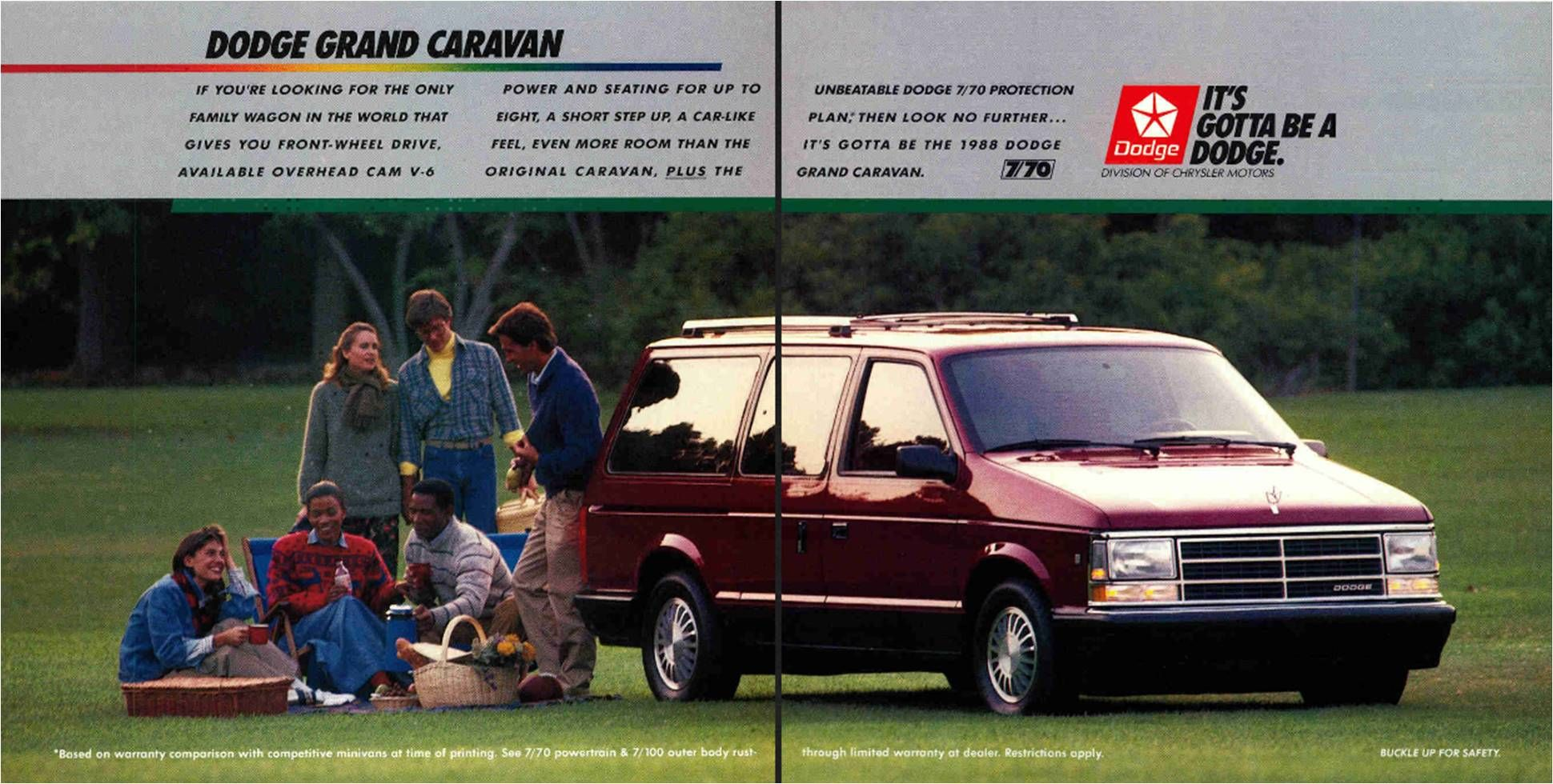 1988 Dodge Grand Caravan Used It To Shuttle Hotel Guests From The
