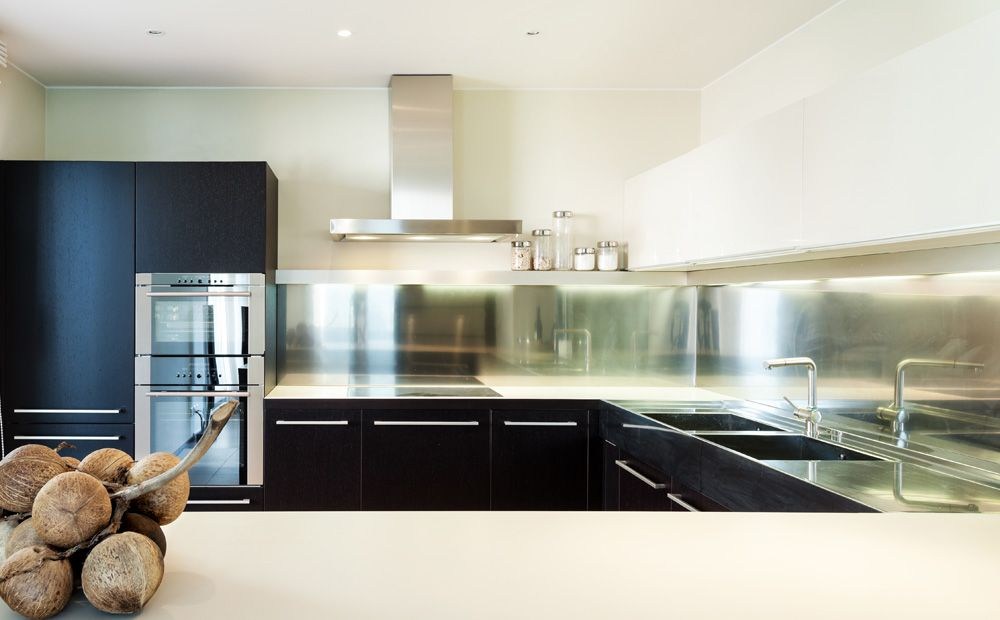 Inox Design Keukens : Inox spatwand keuken jaren woning