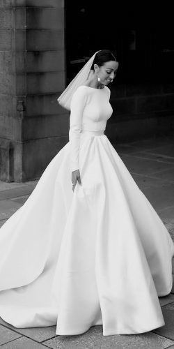 33 CUTE MODEST WEDDING DRESSES TO INSPIRE