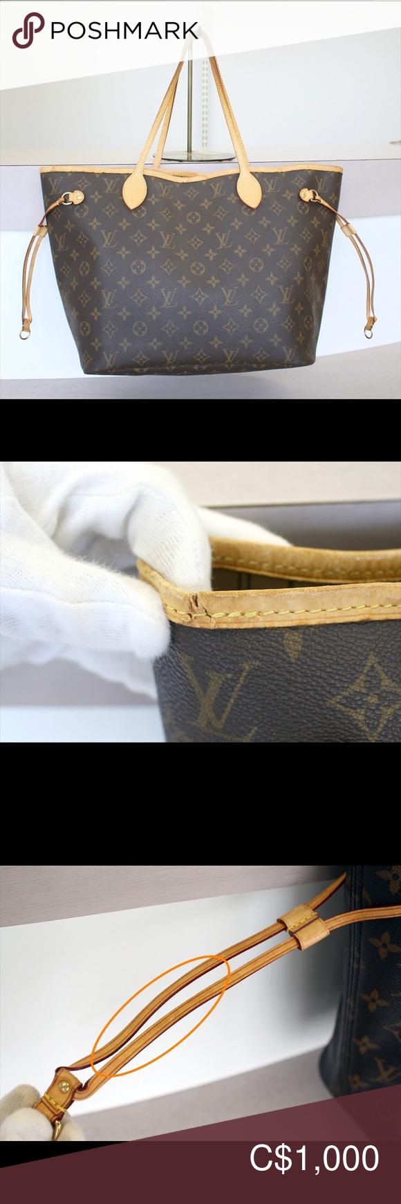 Louis Vuitton Neverfull Mm Monogram Bag No 1050 Louis Vuitton Neverfull Mm Monogram Bag Neverfull Mm Monogram