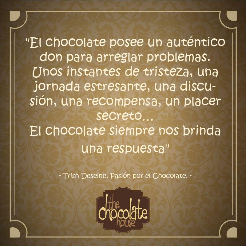 El Chocolate Siempre Nos Brinda Respuesta Y Nos Alegra El