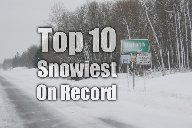 10 Snowiest Duluth Feature