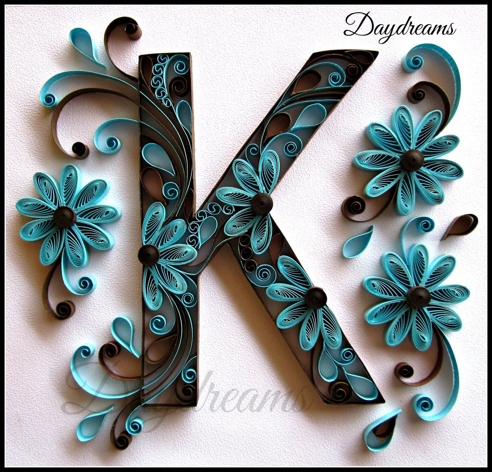 Daydreams quilled k pinteres for Quilling paper art