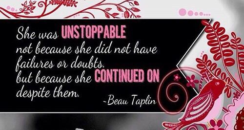 Unstoppable Quote Facebook Twitter Timeline Cover Banner
