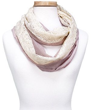 Another great find on #zulily! Taupe Vintage Infinity Scarf by Kaleidoscope Collections #zulilyfinds