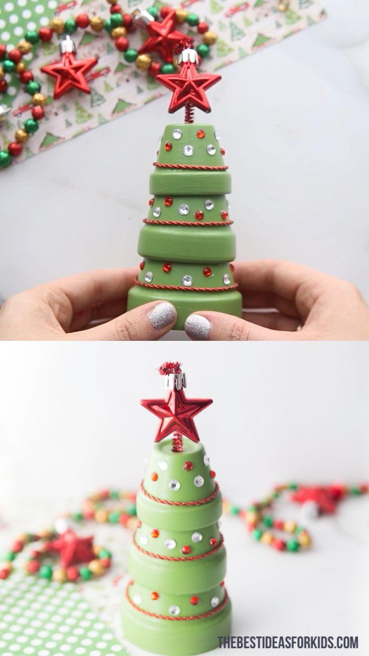 Photo of Terracotta Christmas Tree 🎄