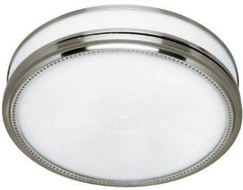 Hunter 83001 Ventilation Riazzi Bathroom Exhaust Fan With Light