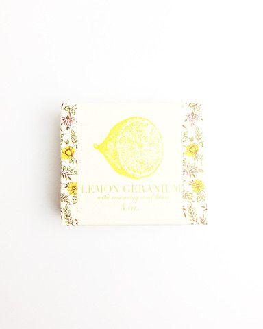 Saipua Lemon Geranium Soap - MAGPIEANDRYE