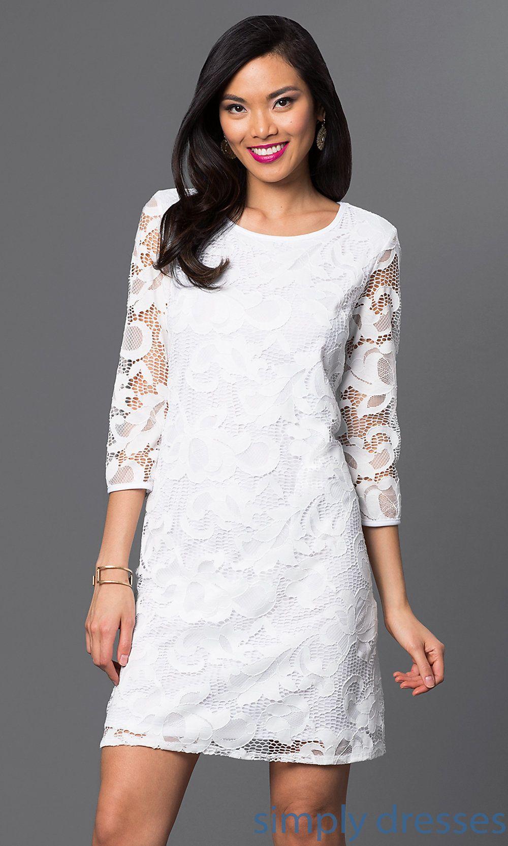 White Lace Dress By Tiana B Ju Ti 87880 Dresses Prom