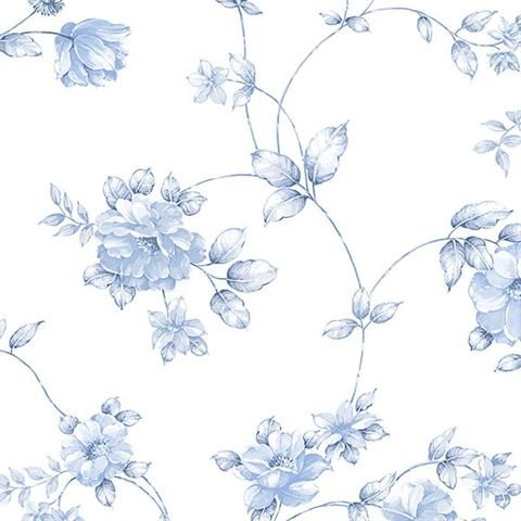 Floral Wallpaper - CG28845 from Rose Garden book