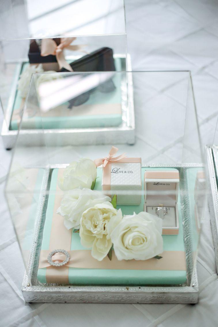 Mint Gift Trays Wedding Preparation Wedding Gift Boxes Wedding Gifts