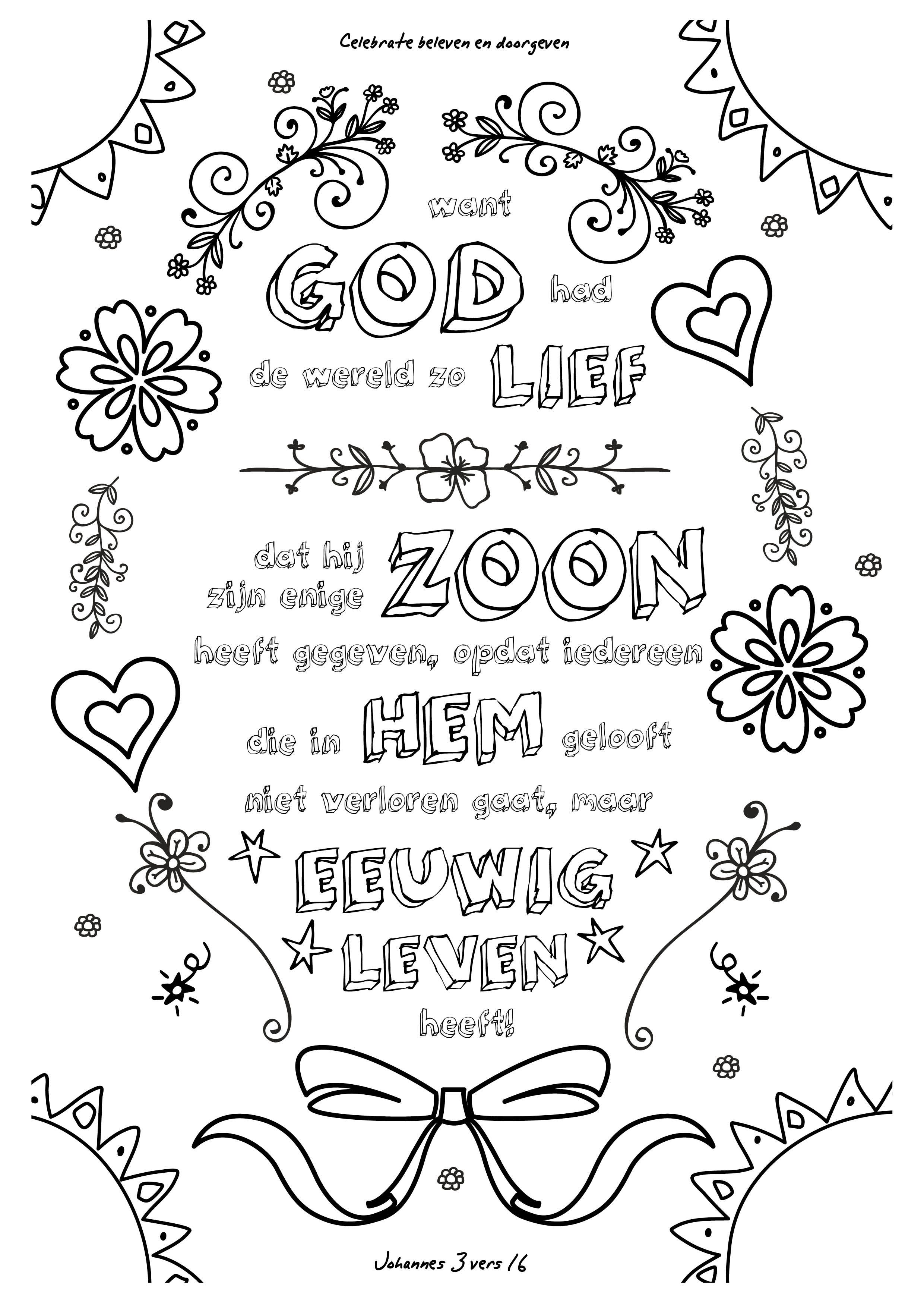 Kleurplaten Dieren Teksten Pin Van Kleurversjes Op Kleurplaten Bijbel Versjes