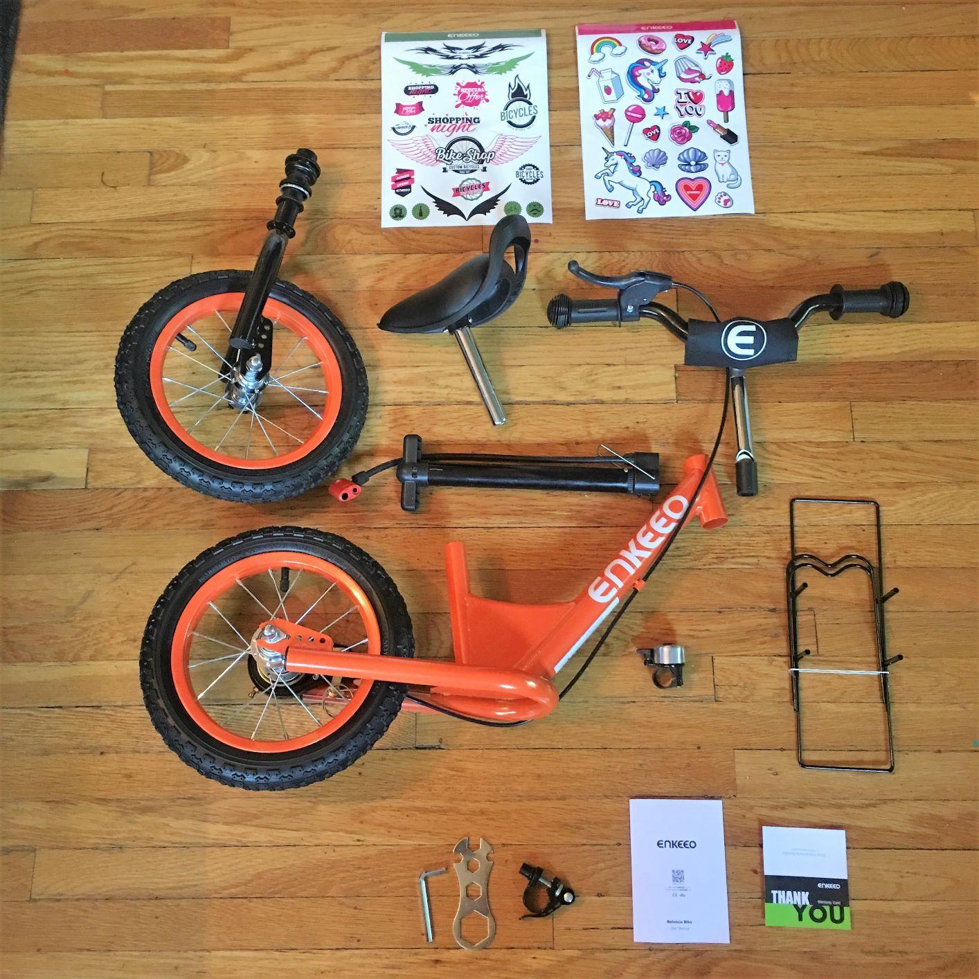 Enkeeo Balance Bike Review Balance Bike Bike Reviews Bike